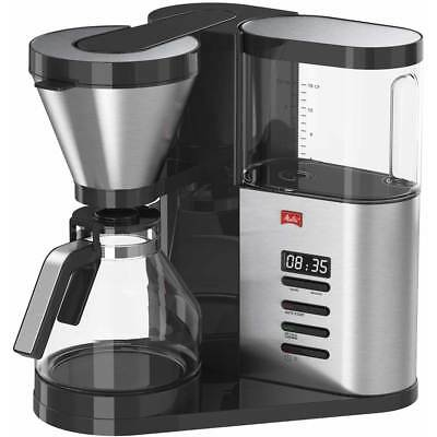Melitta Aroma Elegance Deluxe Filter Coffee Machine with Timer - Stainless Steel