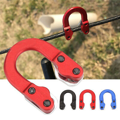 Portable Metal Hunting D Loop D-Ring Buckle Archery Bow Arrow Shooting Alluring
