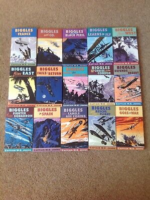 BIGGLES Books By Captain W.E.JONES