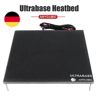 *EU STOCK* ANYCUBIC 3D Printer Ultrabase 220x220mm Heated Bed with Glass Plate
