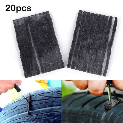 20Pcs Auto Car Truck Tubeless Tire Tyre Puncture Repair Recovery Strips Kit All
