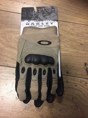Oakley New Genuine Tactical Gloves British Army Issue ,level Peaks, Pilot Gloves
