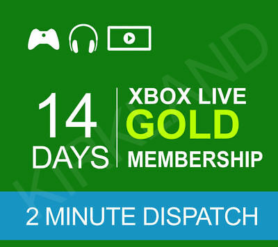 14 DAY XBOX LIVE GOLD MEMBERSHIP CODE / 2 week trial code - INSTANT DELIVERY