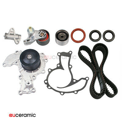 Timing Belt Kit Tensioner Water Pump for 98-04 Isuzu Honda Acura 3.2L 3.5L 6VE1