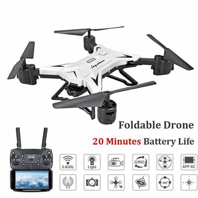 KY601S Drone RC Quadcopter HD 5.0MP Camera WIFI FPV 1080P Foldable Aircraft New