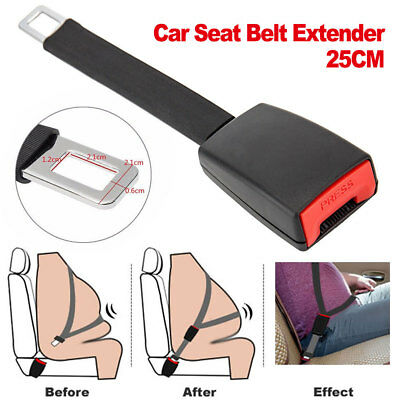 Universal Car Seat Belt Extender Seatbelt Extension Safety Buckle Clip Adjutable