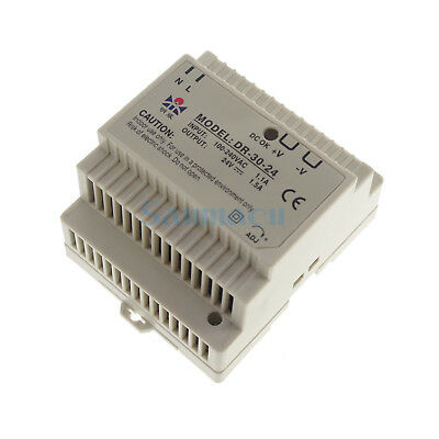 30W Output 24VDC 1.5A Din Rail Mounted Industrical Switching Power supply