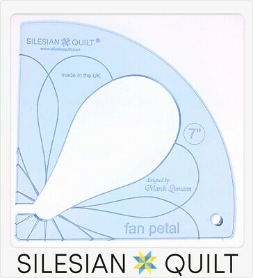 Template for quilting - Fan Petal 7 inches