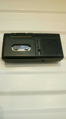 Microcassette Recorder Voice Activated System