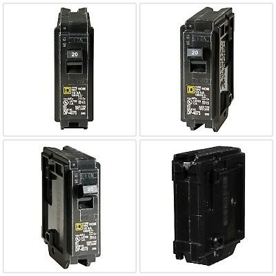Circuit Breaker Single-Pole Residential Trip Overload Protection Homeline 20A