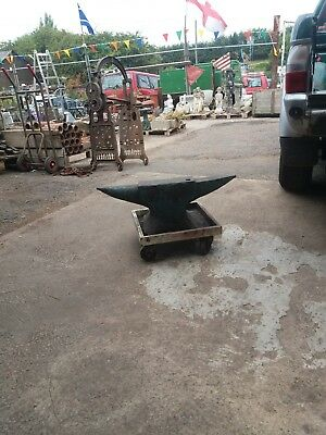 Blacksmiths anvil used