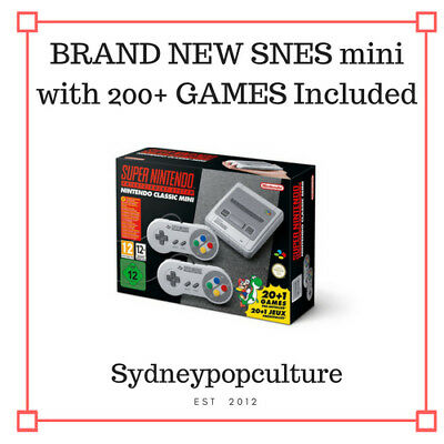 NINTENDO MINI SNES (Brand new) WITH 200+ GAMES + Next day Dispatch