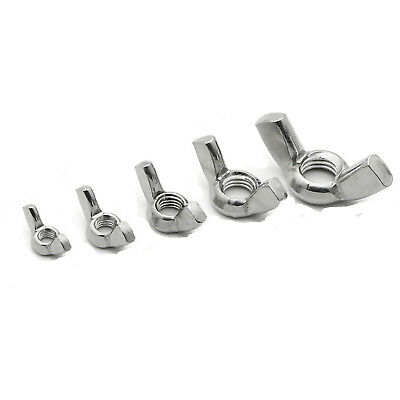 Wing Nuts A4 Marine Grade Stainless Steel Butterfly Nut Size M4 M5 M6