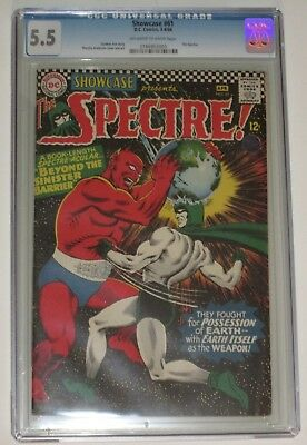 Showcase #61 - DC 1966 - 2nd SILVER AGE APPEARANCE SPECTRE - CGC 5.5