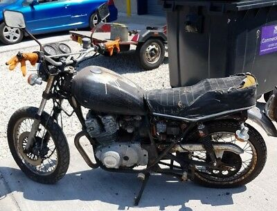 Suzuki GS250T Barn Find Project Cafe Racer Spares or Repair