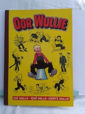Oor Wullie. Sunday Post Comic Strip. Illustrated Paperback Annual. 1986