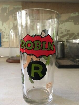 Robin Collectible Glass
