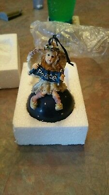 Boyds Bears & Friends The Wee Folkstones Collection Angel  Tree Ornament Olivia