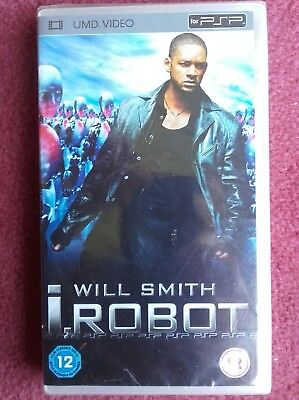 """""""I, Robot"""" Film Disc For Playstation Portable Console PSP. UMD Video. NEW SEALED"""