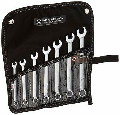 Wright Tool #707 Wrightgrip 7-Piece 12-Point Combination Wrench Set