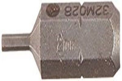 Wright Tool 32M04B 4mm 3//8 Drive Hex Type Metric Replacement Bits