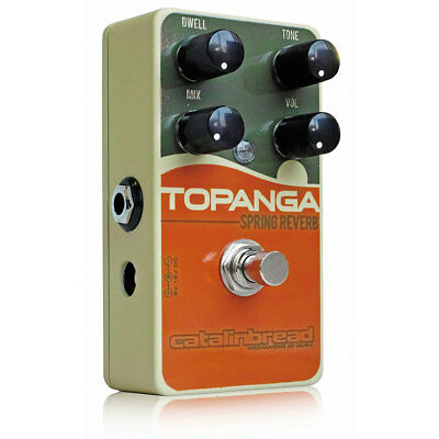 Catalinbread Topanga Spring Reverb Pedal  insured & trackable shipping