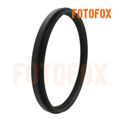 58mm to 49mm Stepping Step Down Filter Ring Adapter 58-49mm 58mm-49mm metal