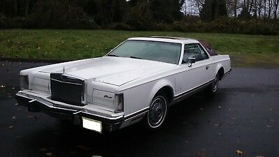 1979 Lincoln Continental  1979 lincoln continental mark v
