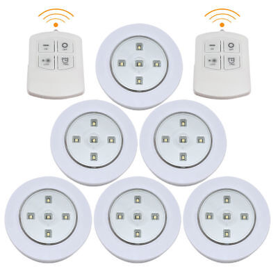 SMD Remote Control Wireless Battery Operated Under Cabinet Led Light 3, 6 & 9pcs