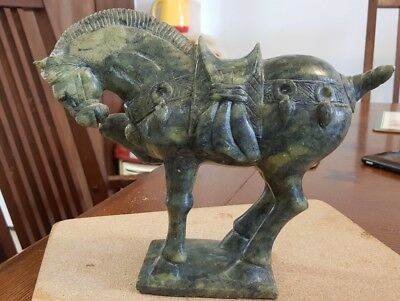 Antique Chinese Jade 'Tang' Horse