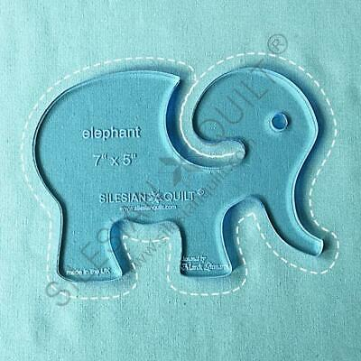 Template for quilting - Elephant