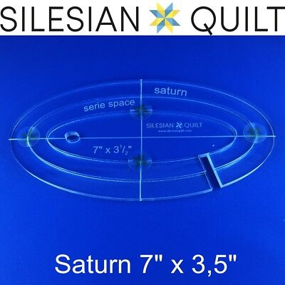 Template for quilting - Saturn