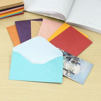 Paper Envelopes 50Pcs Colored Blank Mini Wedding Party Invitation Greeting Cards