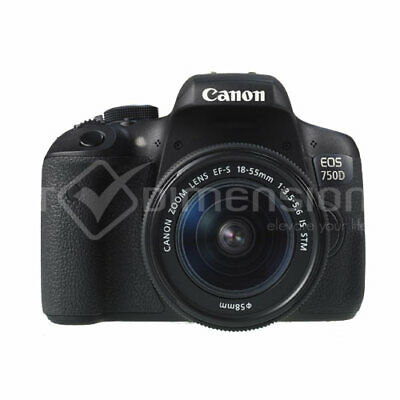 Canon EOS 750D Rebel T6i+EF-S 18-55mm IS STM (Multi) Gift Ship From EU