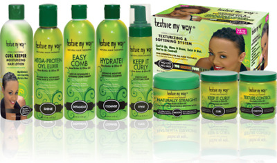 Texture My Way Shea Butter & Olive Oil Hair Therapies Product !!! Full Range !!!