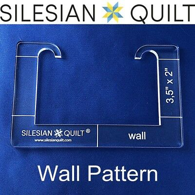 Template for quilting - Wall