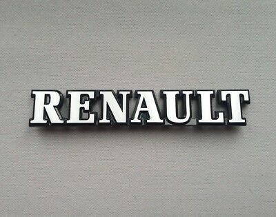 ⭐🇫🇷 Neuf Monogramme Renault Clio 16S 16V Coffre Logo Badge New Livraison 48H