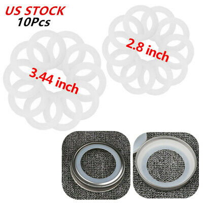 Silicone Gasket for Mason/Ball/Kerr Jar Lids Airtight Sealing Ring Replacement
