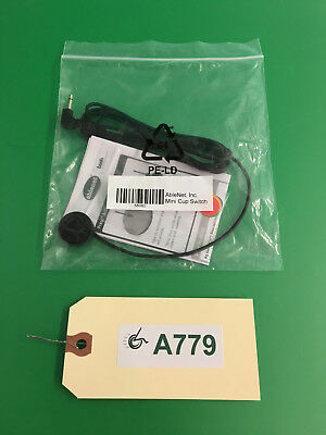 NEW AbleNet, INC. Mini Cup Switch/ Push Button Switch for Power Wheelchair #A779
