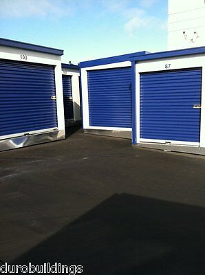 DuroSTEEL JANUS 8'W x9'H Commercial 1000 Series Metal Roll-up Door & Hdwe DiRECT
