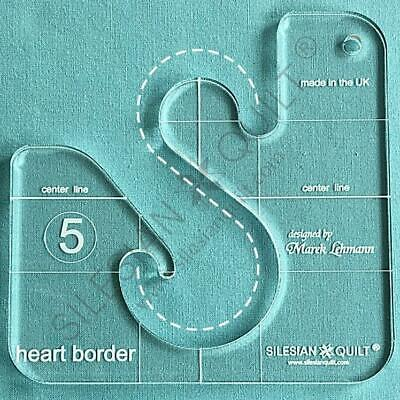 Template for quilting - Heart Border 5 inches