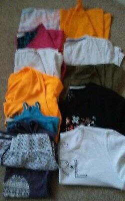 Mixed Job Lot Of Women's Tops Size 12/14