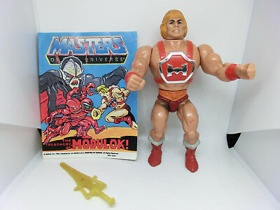 Masters Of The Universe Thunder Punch He Man  Action Figur Vintage He Man Motu