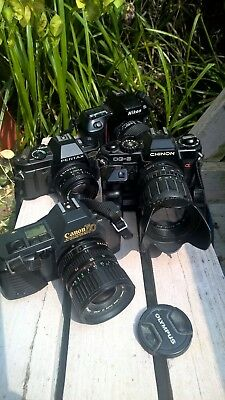 job lot 35mm sir cameras