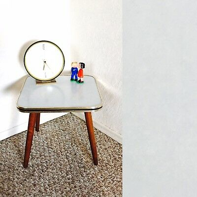 Mid Century Plant Display Side End Table Space Age German Plant Stand Vintage