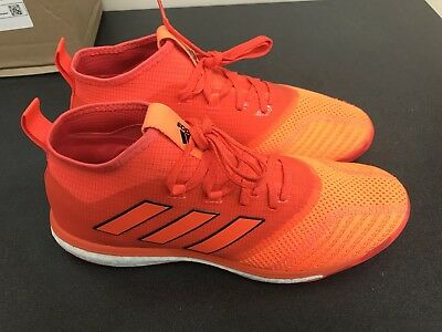 38ccf044d835d6 Adidas Ace Tango 17.1 TR Indoor Men s Shoes Orange Soccer Boots BY2231 size  10