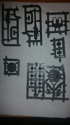40k Imperial Knight Bits Icarus-Zwillingsmaschinenkanone / Twin Icarus Cannon