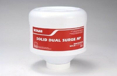 Ecolab Solid Dual Surge Super Concentrated LAUNDRY DETERGENT 8 lb.