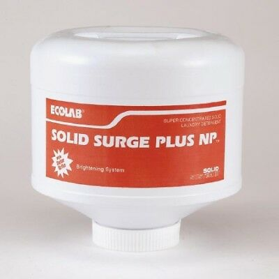 Ecolab 17905 Laundry Soap, Commercial-Grade Solid Surge - (4/cs)