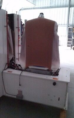 used dry cleaning equipment- Unipress Shirt Unit